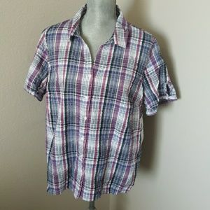Erika Button Up Casual Top Size XL
